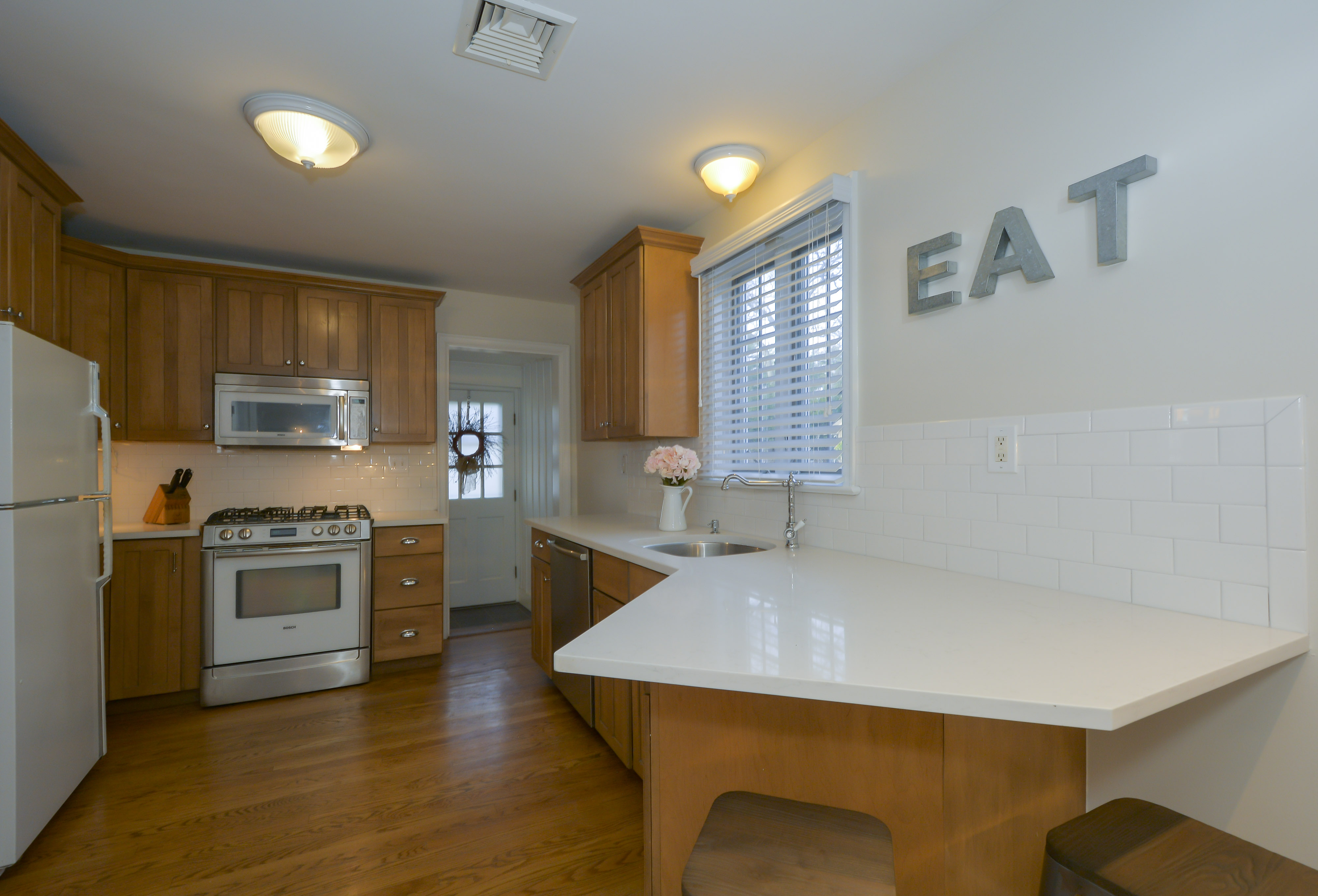 The kitchen often takes centre stage in home life, so it makes sense that according to the experts, upgrading your kitchen is where your funds should be focused if you're trying to get the best price for your house.